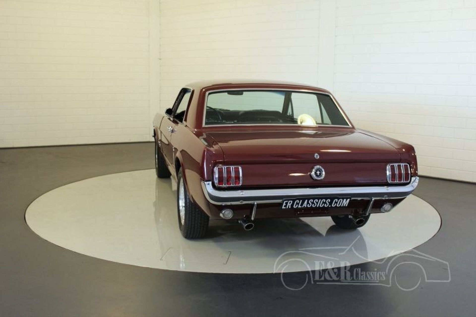 ford mustang coupe 1965 vendre erclassics. Black Bedroom Furniture Sets. Home Design Ideas