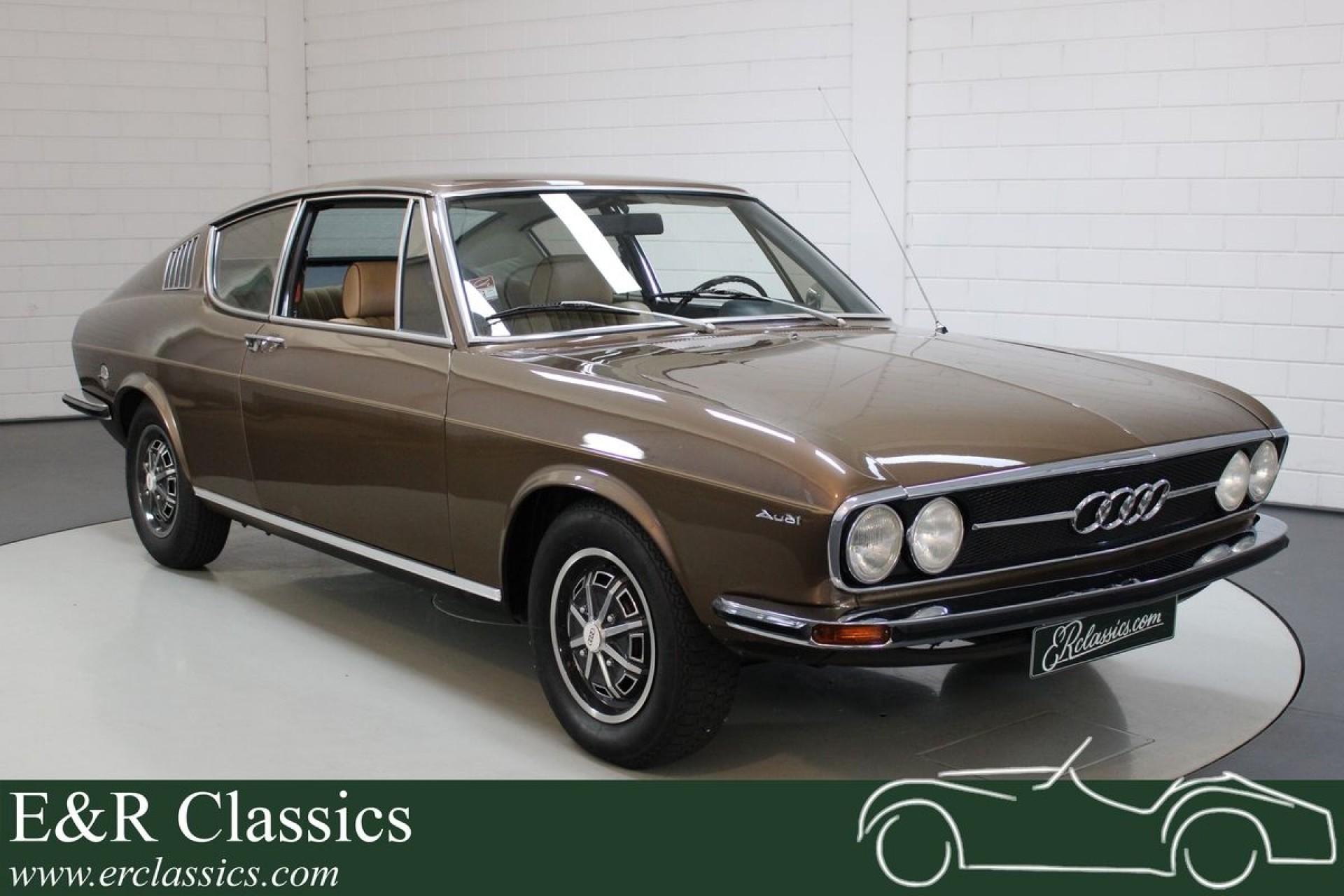 Audi 100 Coupé S très bon état 1973 à vendre chez ERclassics