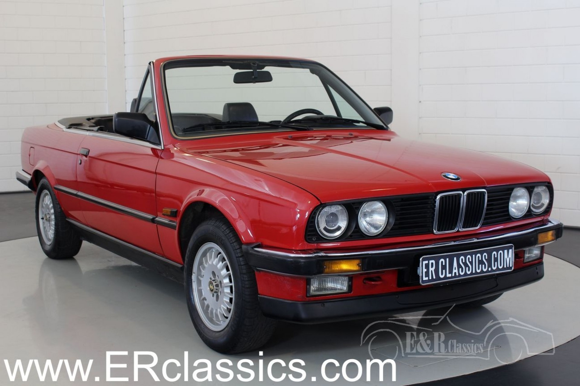bmw 320i e30 cabriolet 1988 vendre erclassics. Black Bedroom Furniture Sets. Home Design Ideas