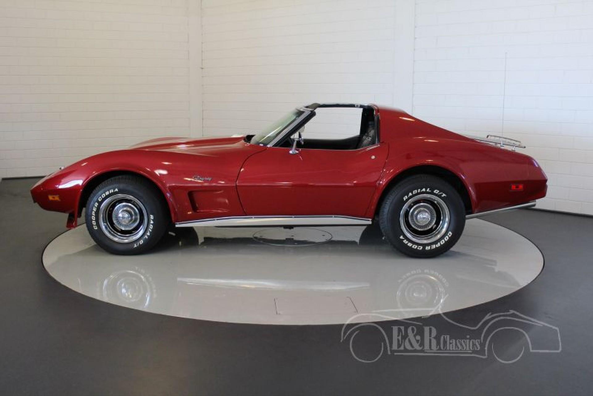 chevrolet corvette c3 1975 vendre erclassics. Black Bedroom Furniture Sets. Home Design Ideas