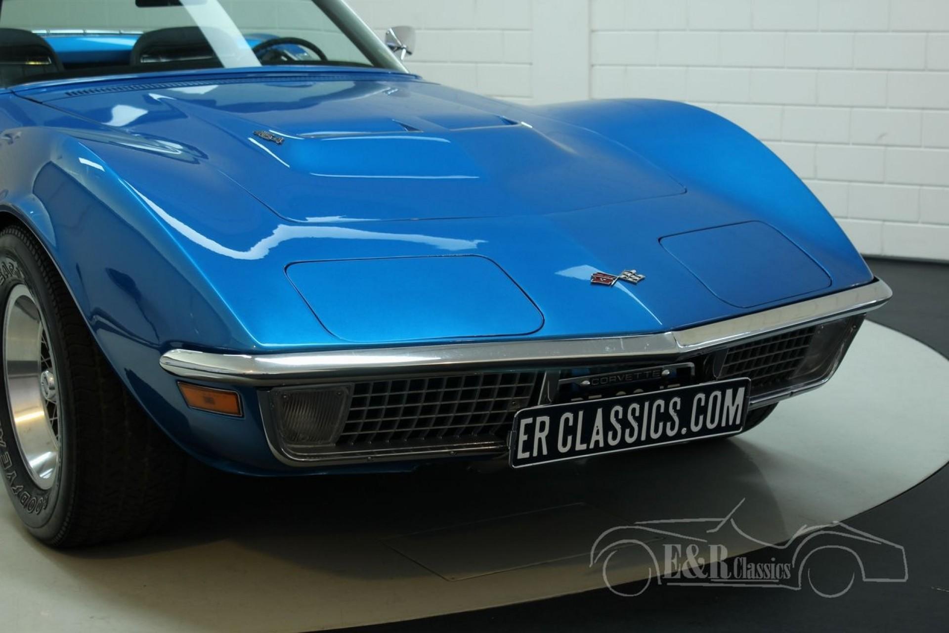 chevrolet corvette c3 1971 cabriolet vendre erclassics. Black Bedroom Furniture Sets. Home Design Ideas