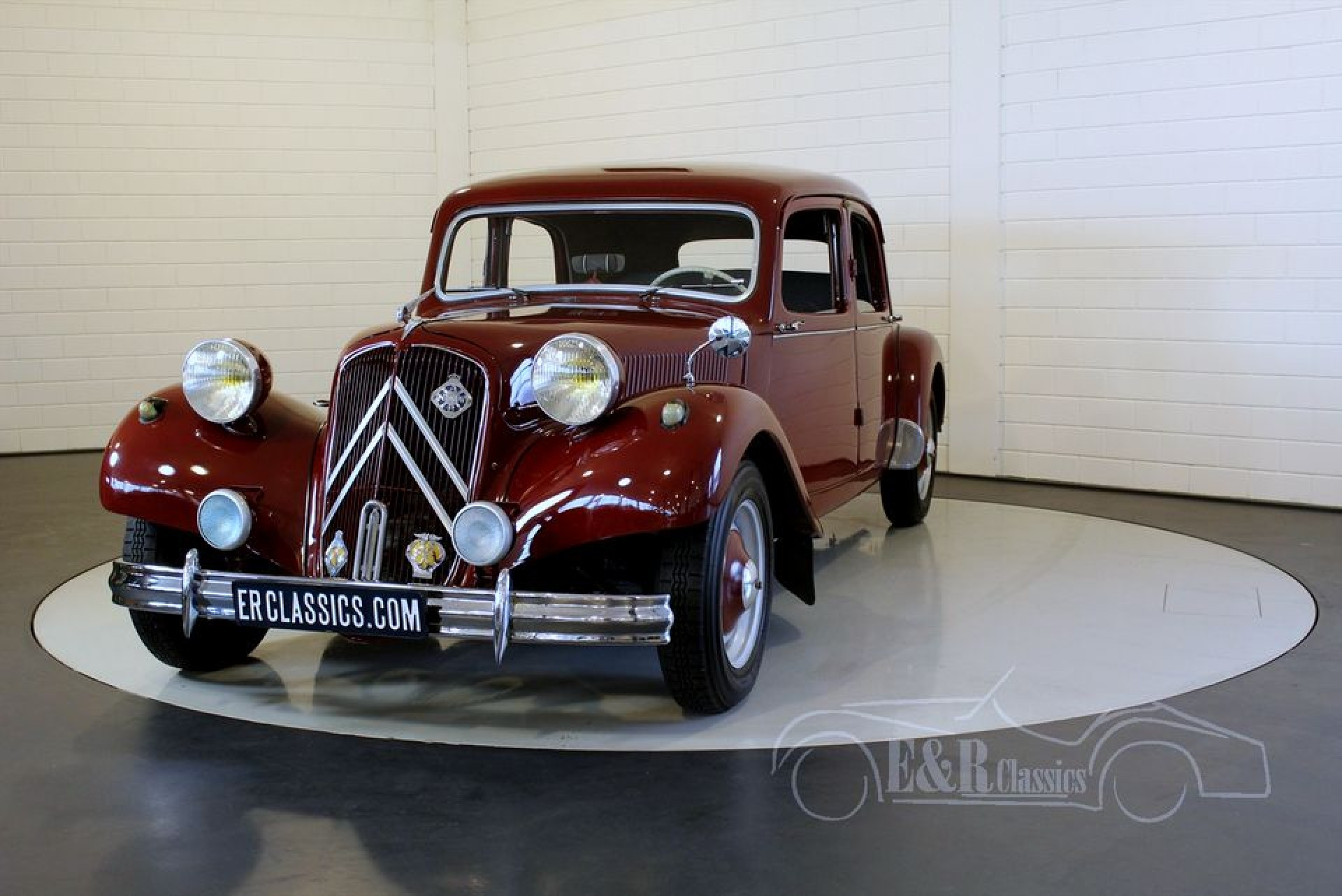 citroen traction avant 11cv 1953 vendre erclassics. Black Bedroom Furniture Sets. Home Design Ideas