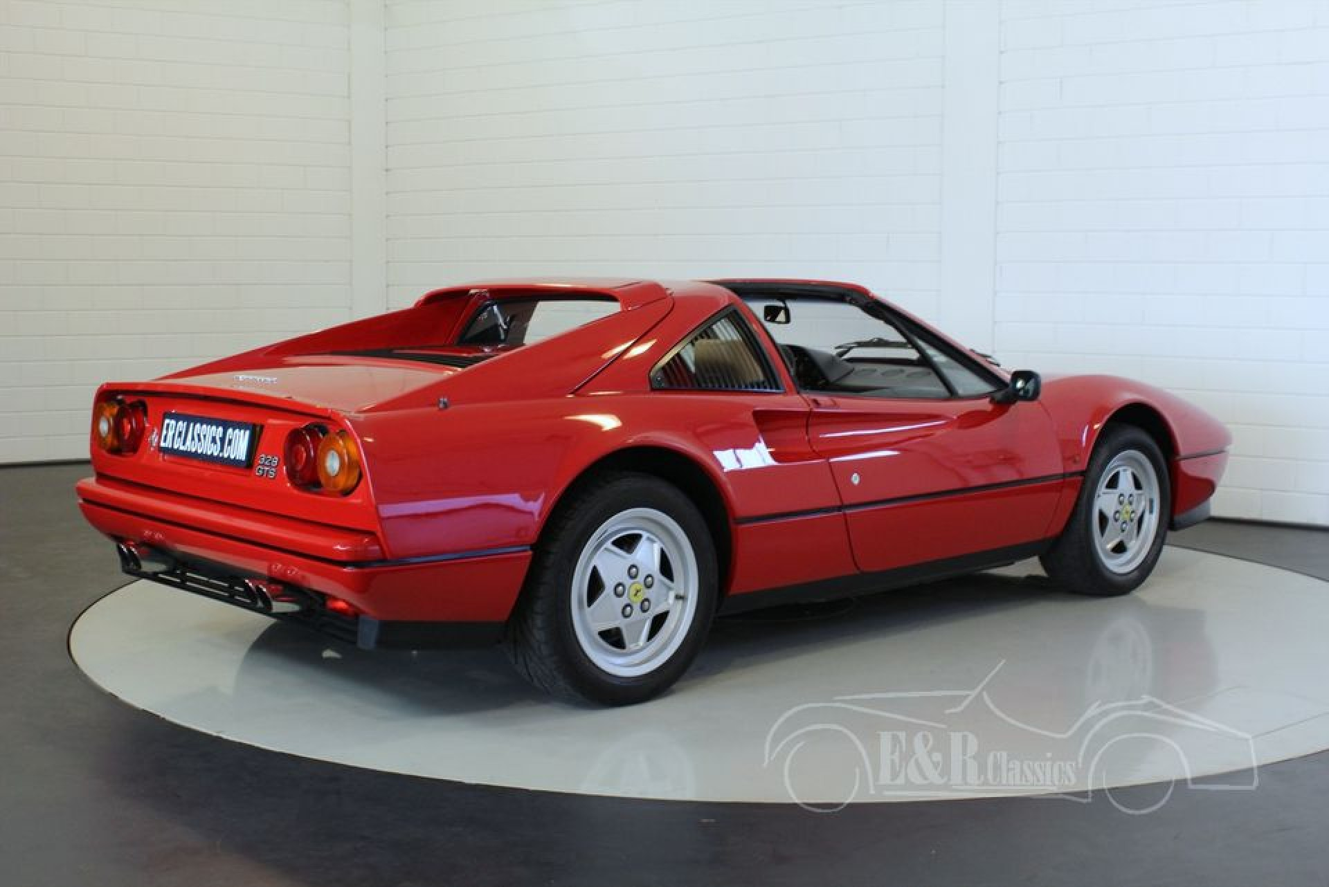 ferrari 328 gts targa 1989 vendre erclassics. Black Bedroom Furniture Sets. Home Design Ideas