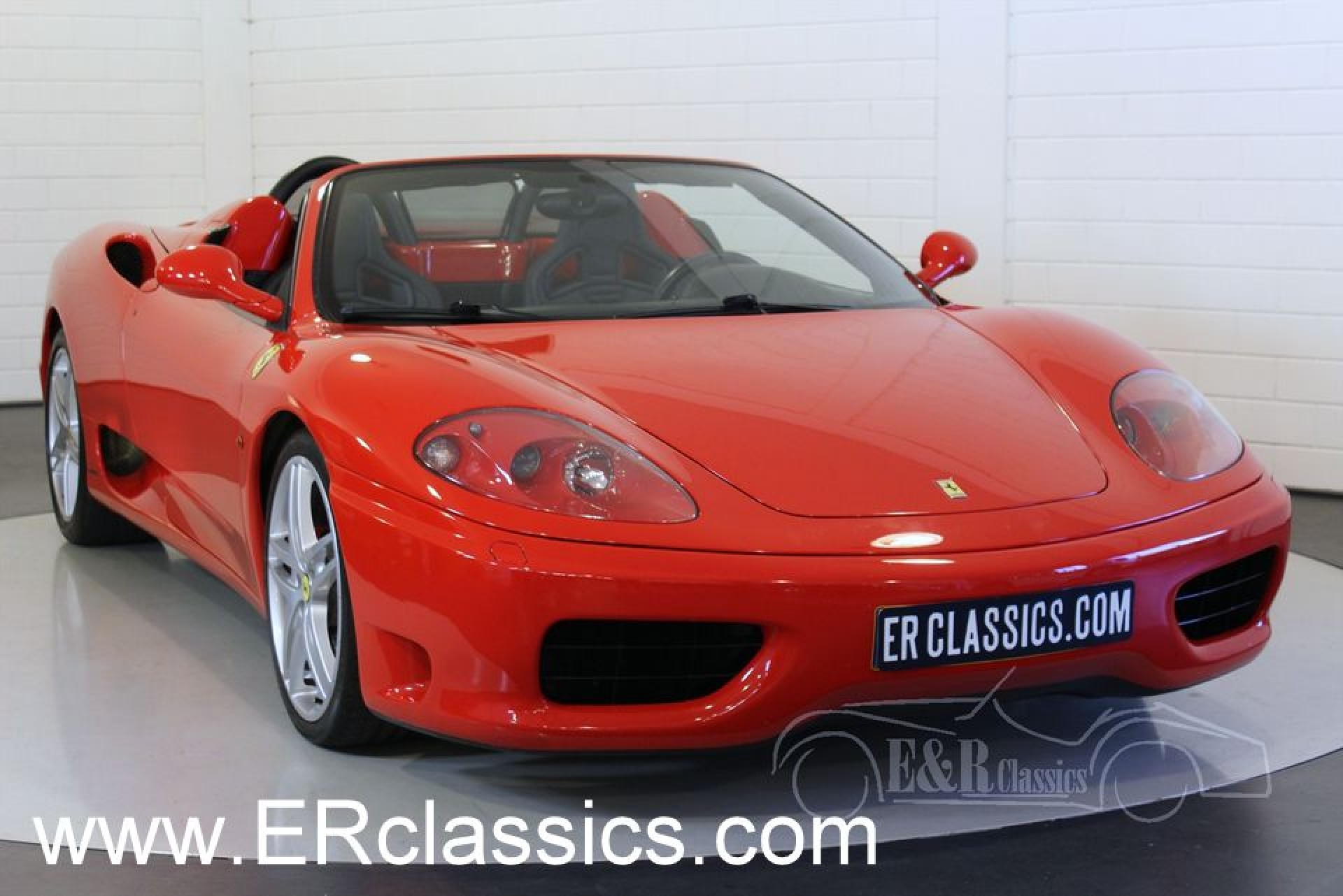 ferrari 360 spider f1 2002 vendre erclassics. Black Bedroom Furniture Sets. Home Design Ideas
