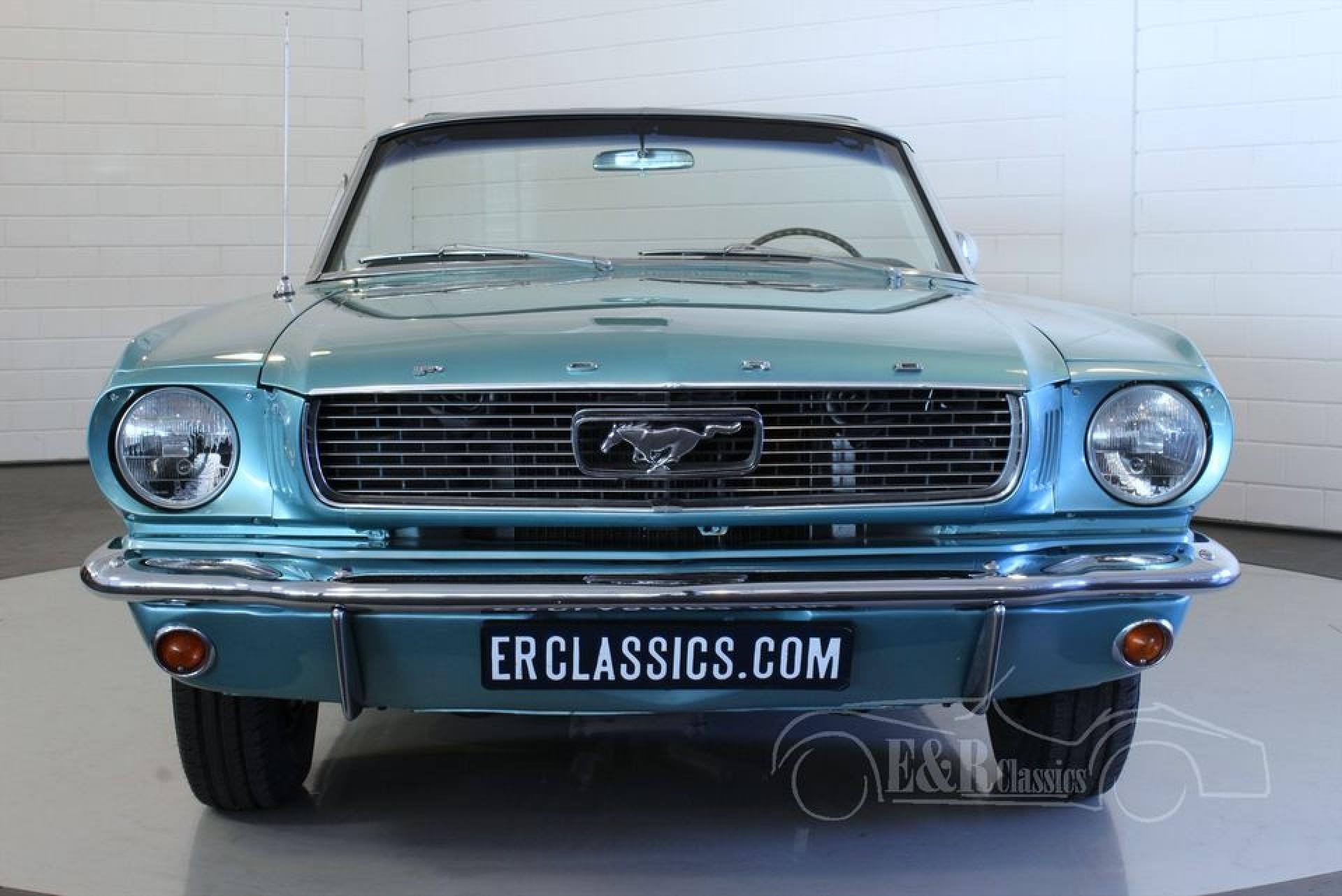 ford mustang v8 cabriolet 1966 vendre erclassics. Black Bedroom Furniture Sets. Home Design Ideas