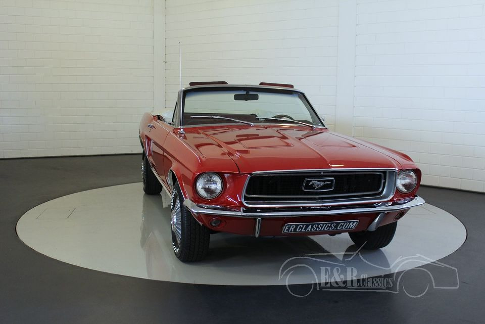 ford mustang 1968 vendre erclassics. Black Bedroom Furniture Sets. Home Design Ideas