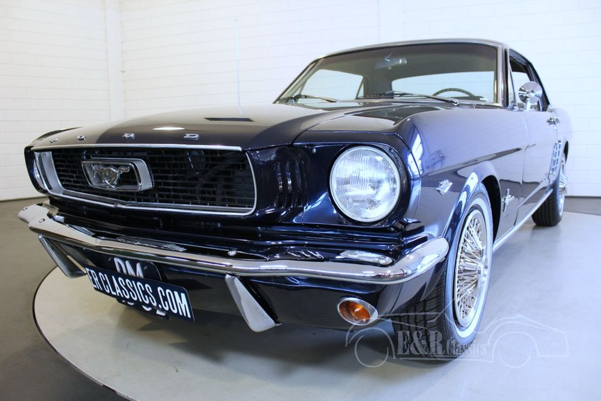 ford mustang coupe 1966 vendre erclassics. Black Bedroom Furniture Sets. Home Design Ideas