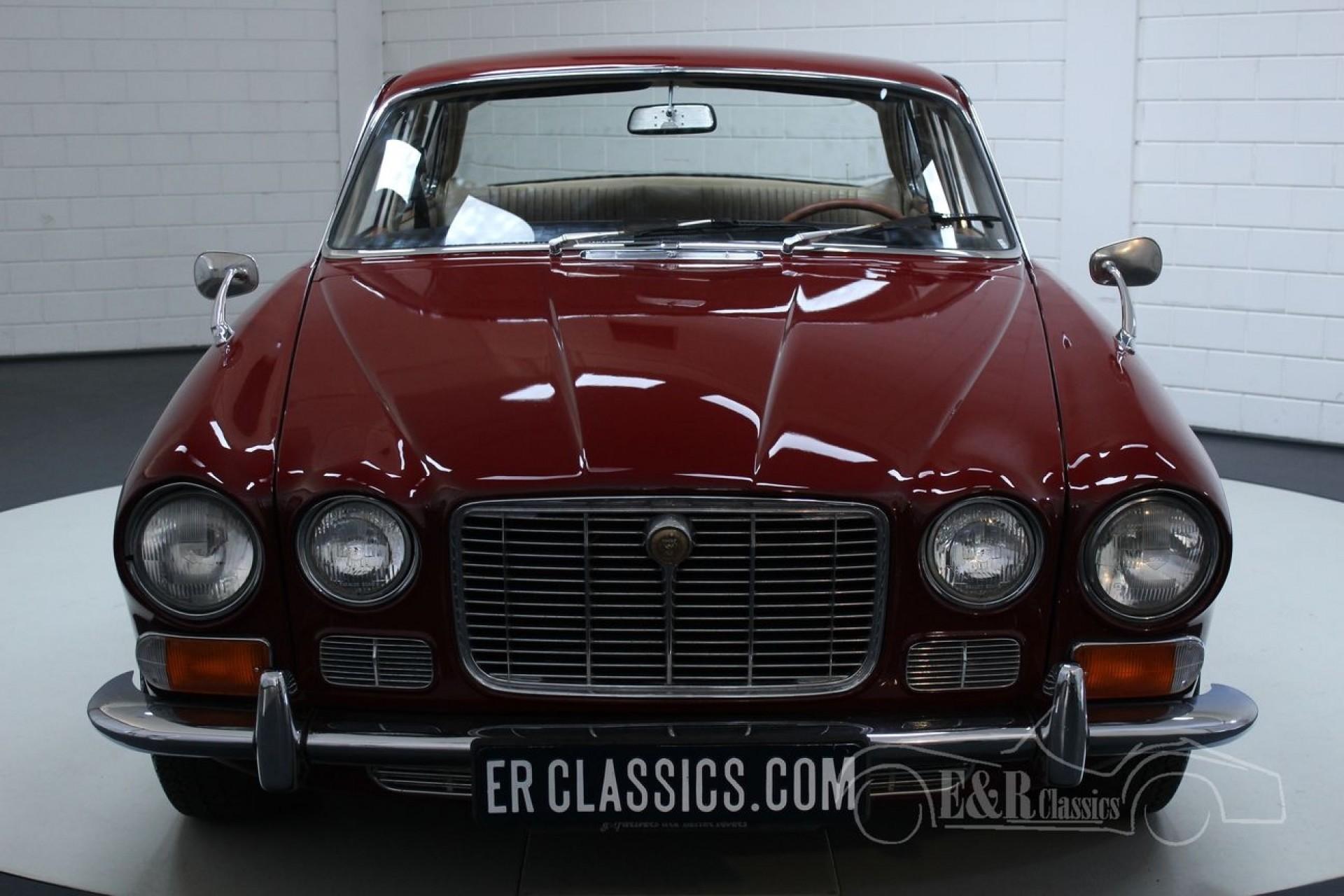 Jaguar XJ6 1969 erste Serie 2,8 Liter Burgunderrot zum ...