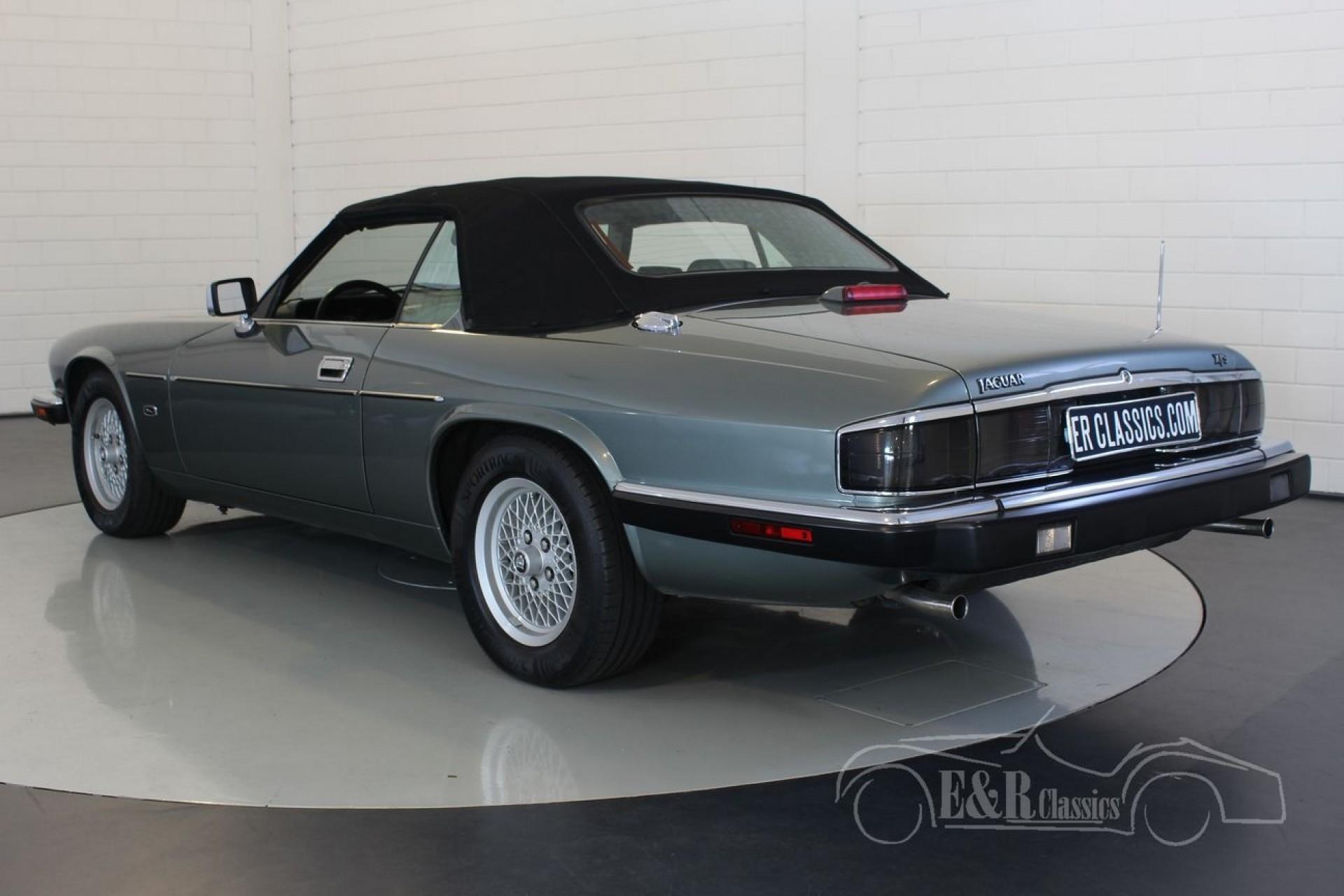 jaguar xjs cabriolet 1993 vendre erclassics