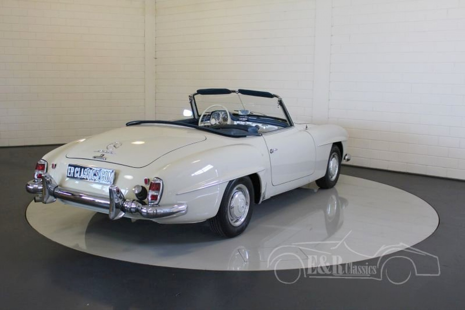 mercedes benz 190sl cabriolet 1960 vendre erclassics. Black Bedroom Furniture Sets. Home Design Ideas