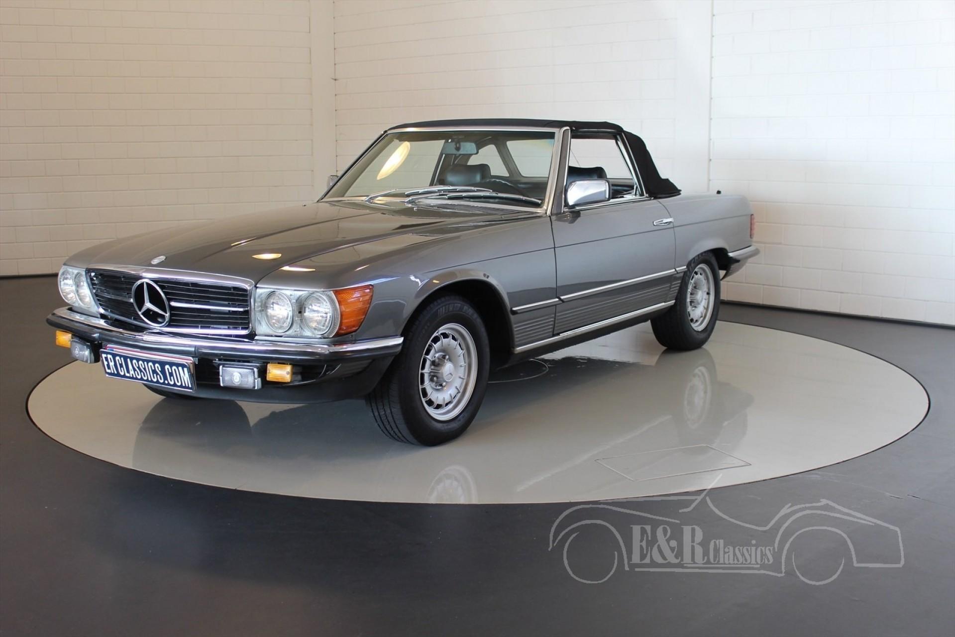 Mercedes benz sl 280 cabriolet 1980 vendre erclassics for Mercedes benz lifestyle collection
