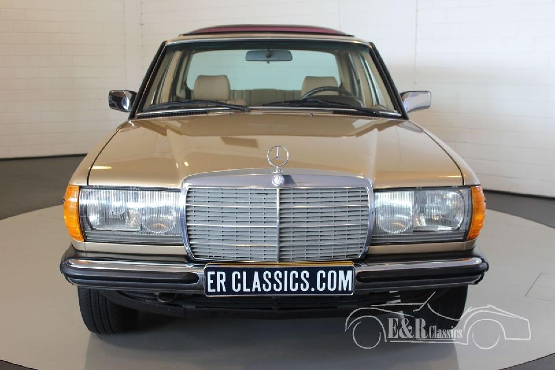 mercedes benz 230e 1984 vendre erclassics. Black Bedroom Furniture Sets. Home Design Ideas
