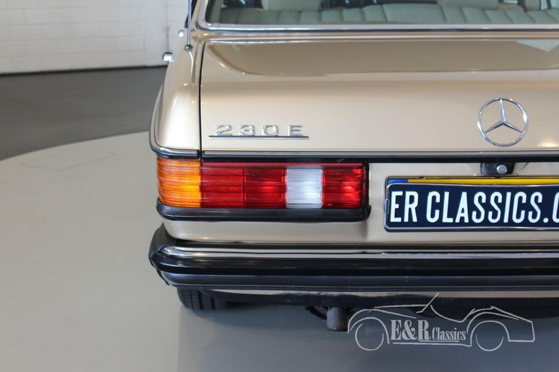 Mercedes benz 230e 1984 vendre erclassics for Mercedes benz lifestyle collection