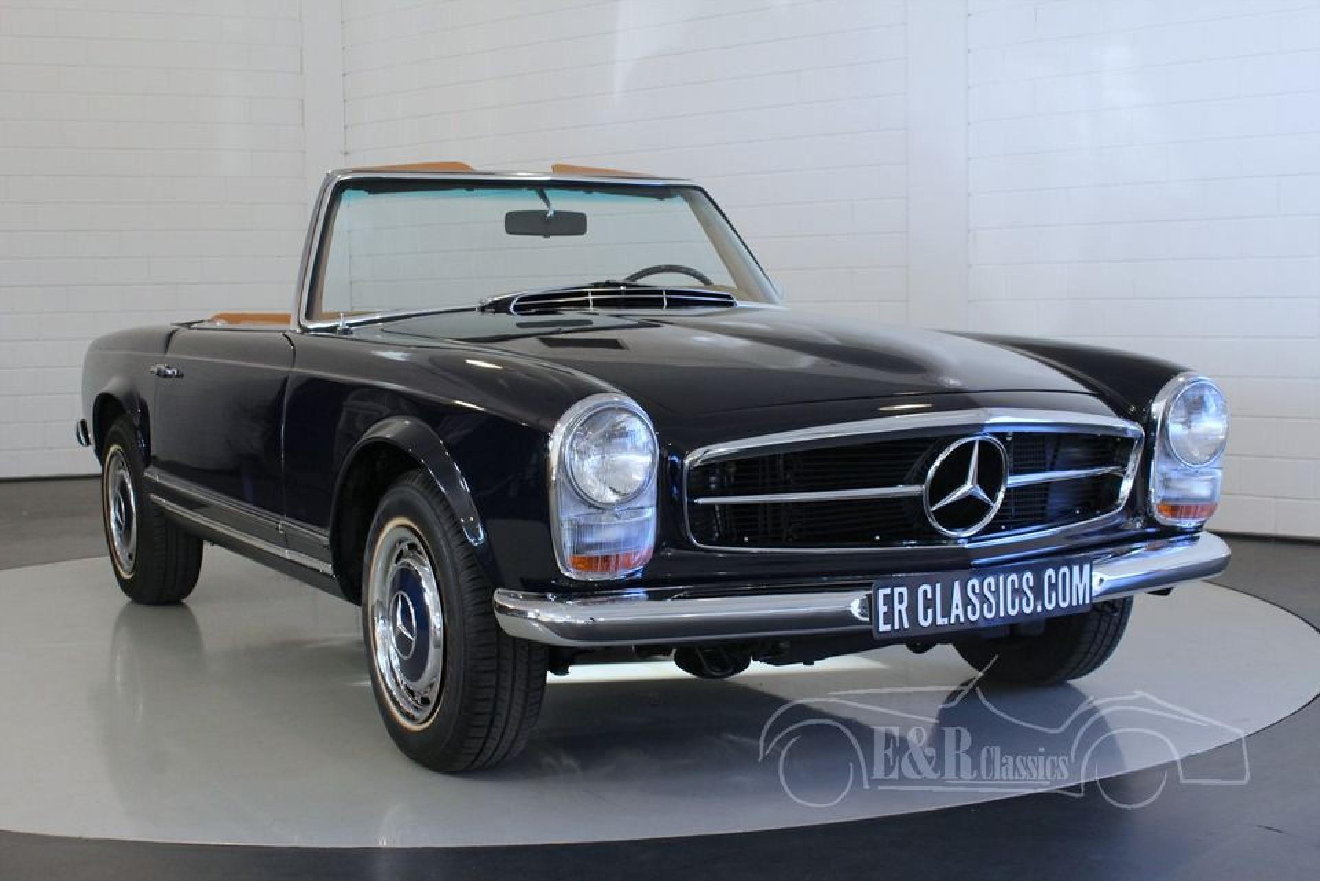 Mercedes benz 280 sl pagode 1968 vendre erclassics for Mercedes benz stock