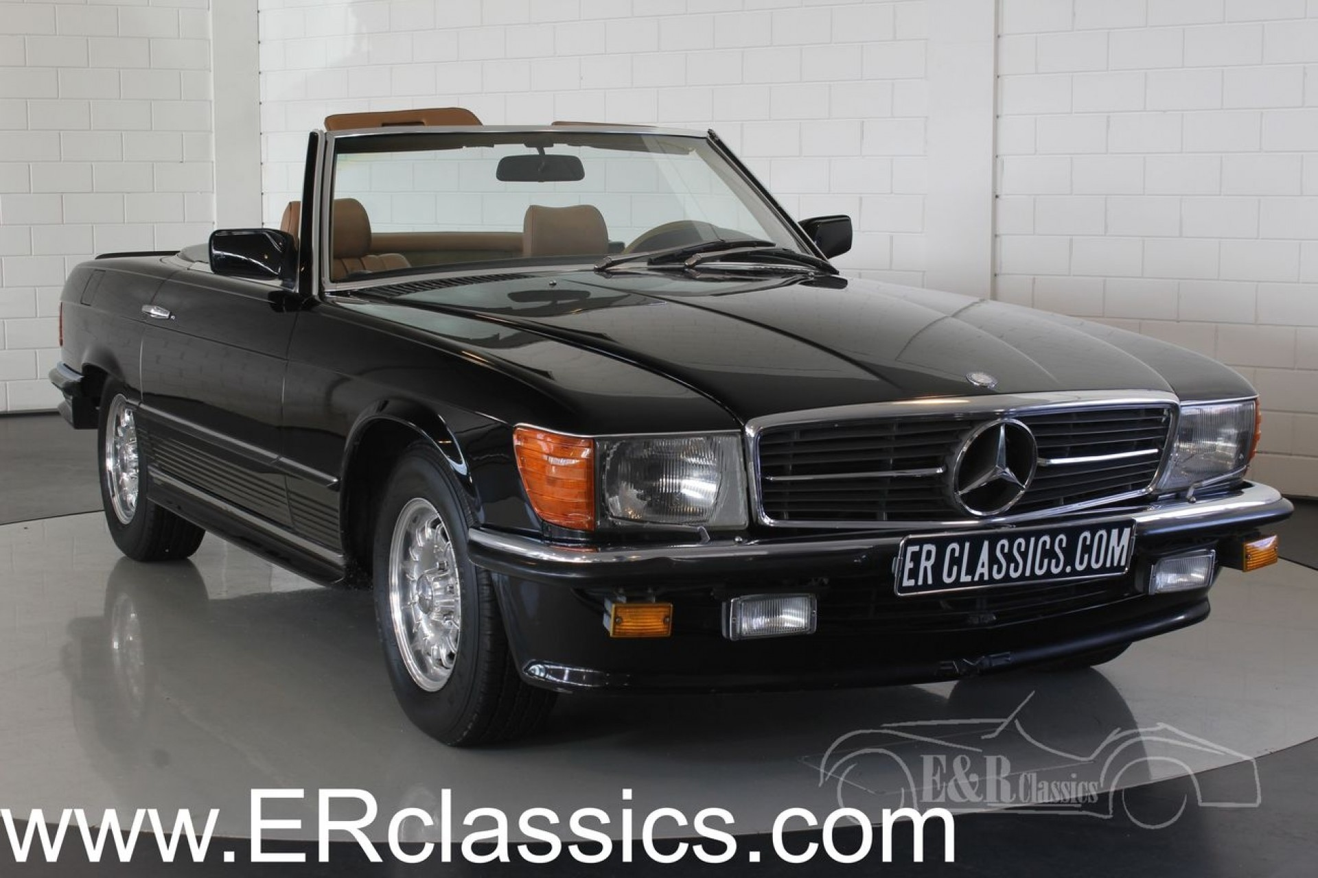 mercedes benz 380 sl cabriolet 1985 vendre erclassics. Black Bedroom Furniture Sets. Home Design Ideas