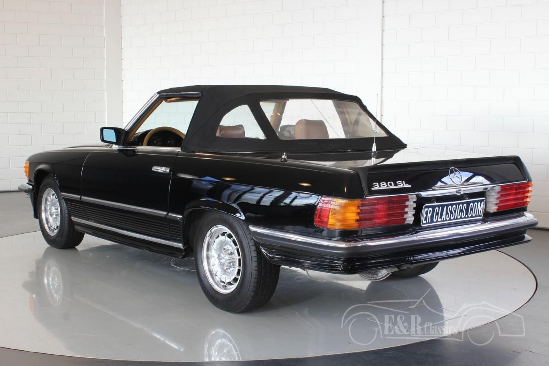 Mercedes benz 380 sl cabriolet 1985 vendre erclassics for Mercedes benz stock