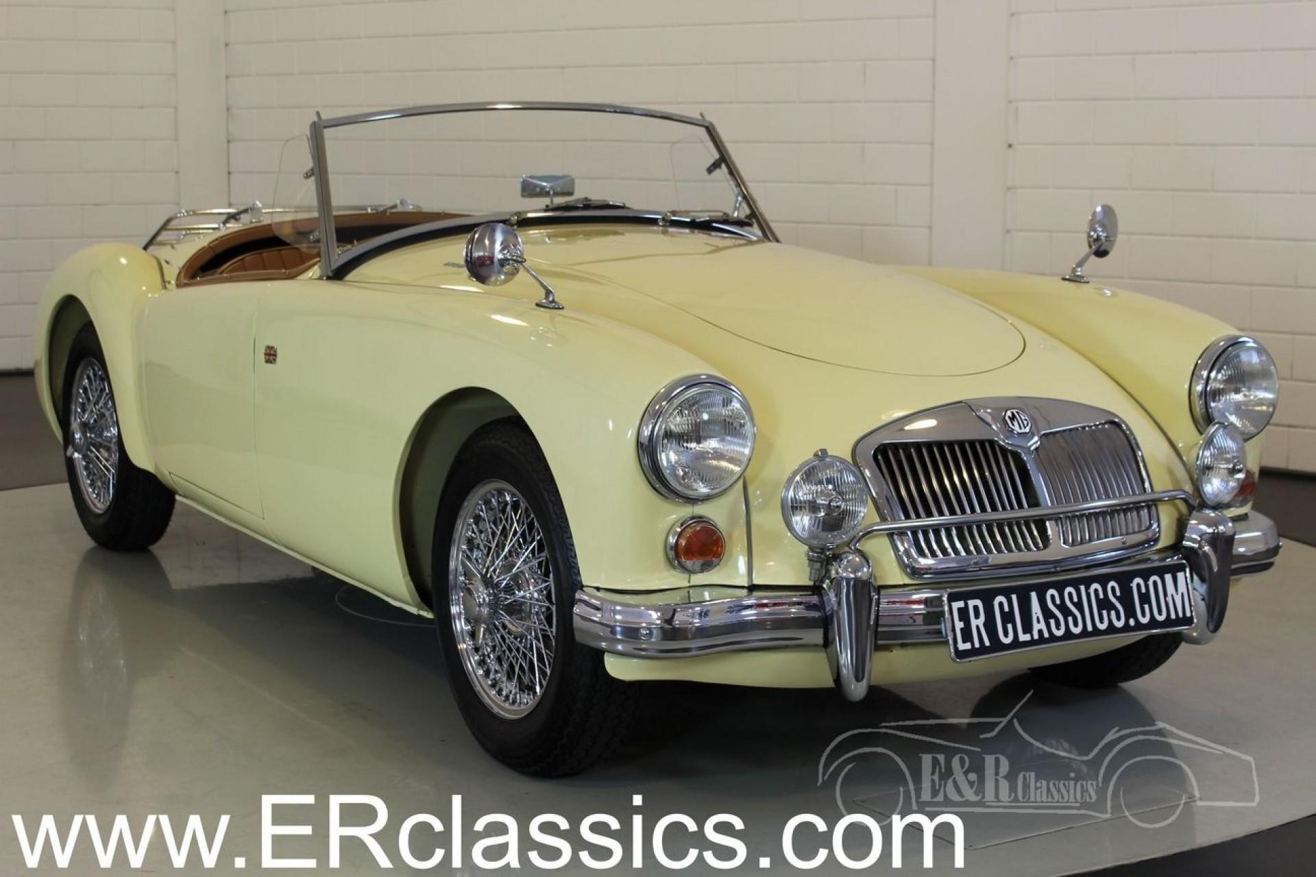 mg a 1600 cabriolet 1959 vendre erclassics. Black Bedroom Furniture Sets. Home Design Ideas