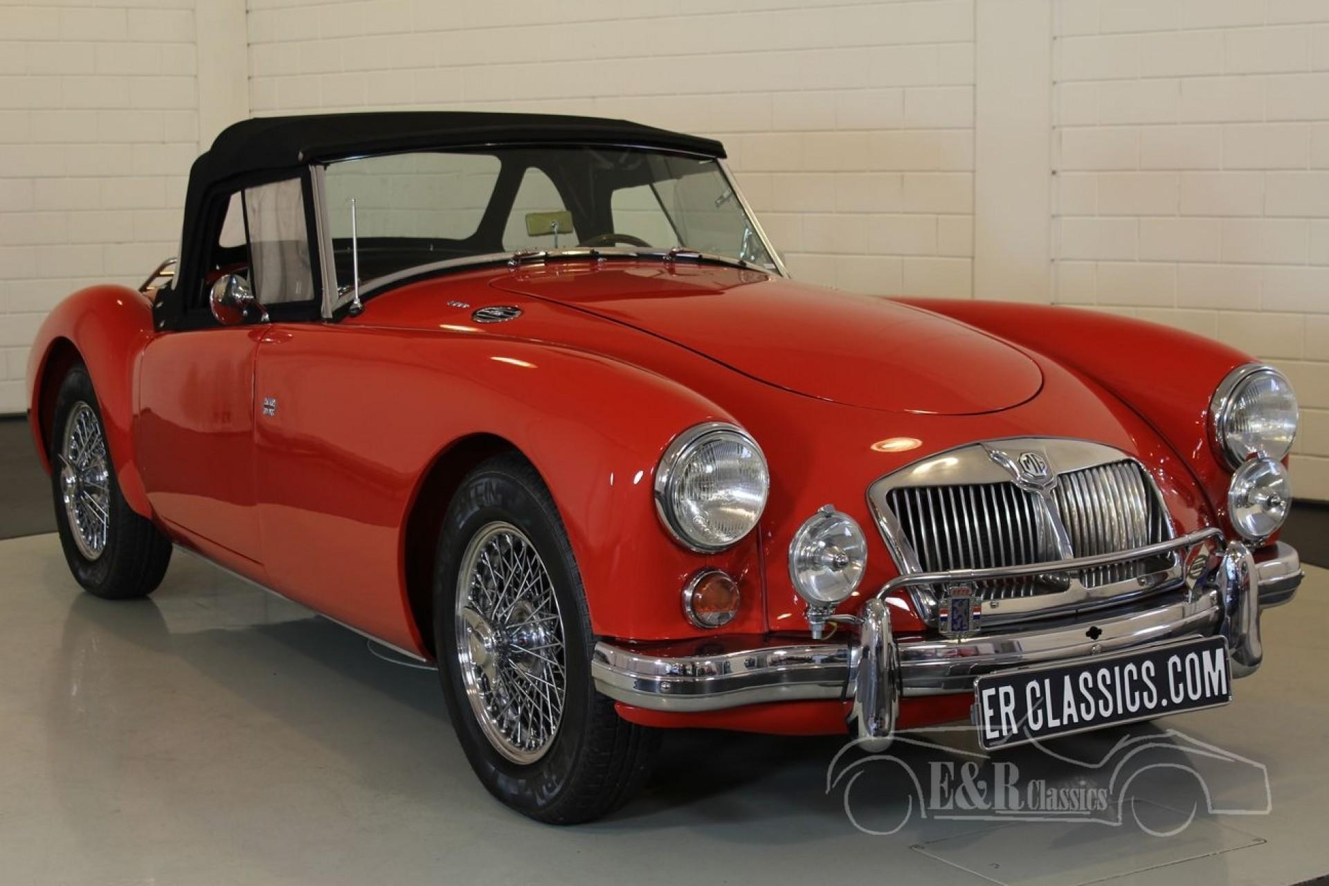 mga voiture mg mga d 39 occasion de 1958 1 000 km 21 500 voiture mg mga occasion de 1958 pour. Black Bedroom Furniture Sets. Home Design Ideas