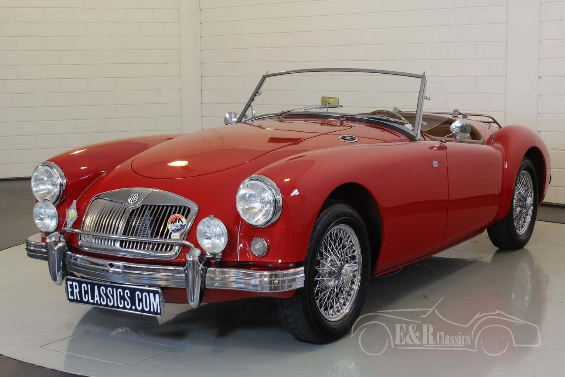 mg mga cabriolet 1959 vendre erclassics. Black Bedroom Furniture Sets. Home Design Ideas