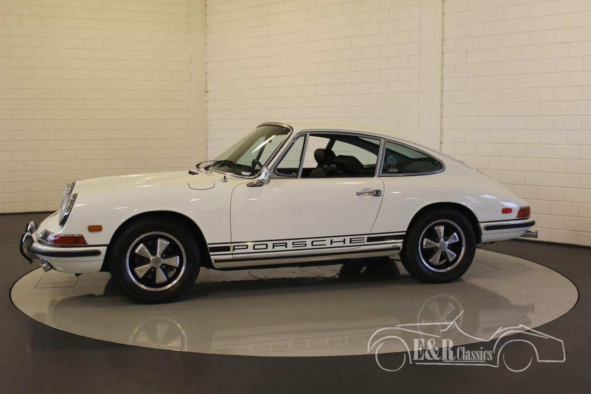 porsche 911 l coupe blanc 1968 vendre erclassics. Black Bedroom Furniture Sets. Home Design Ideas