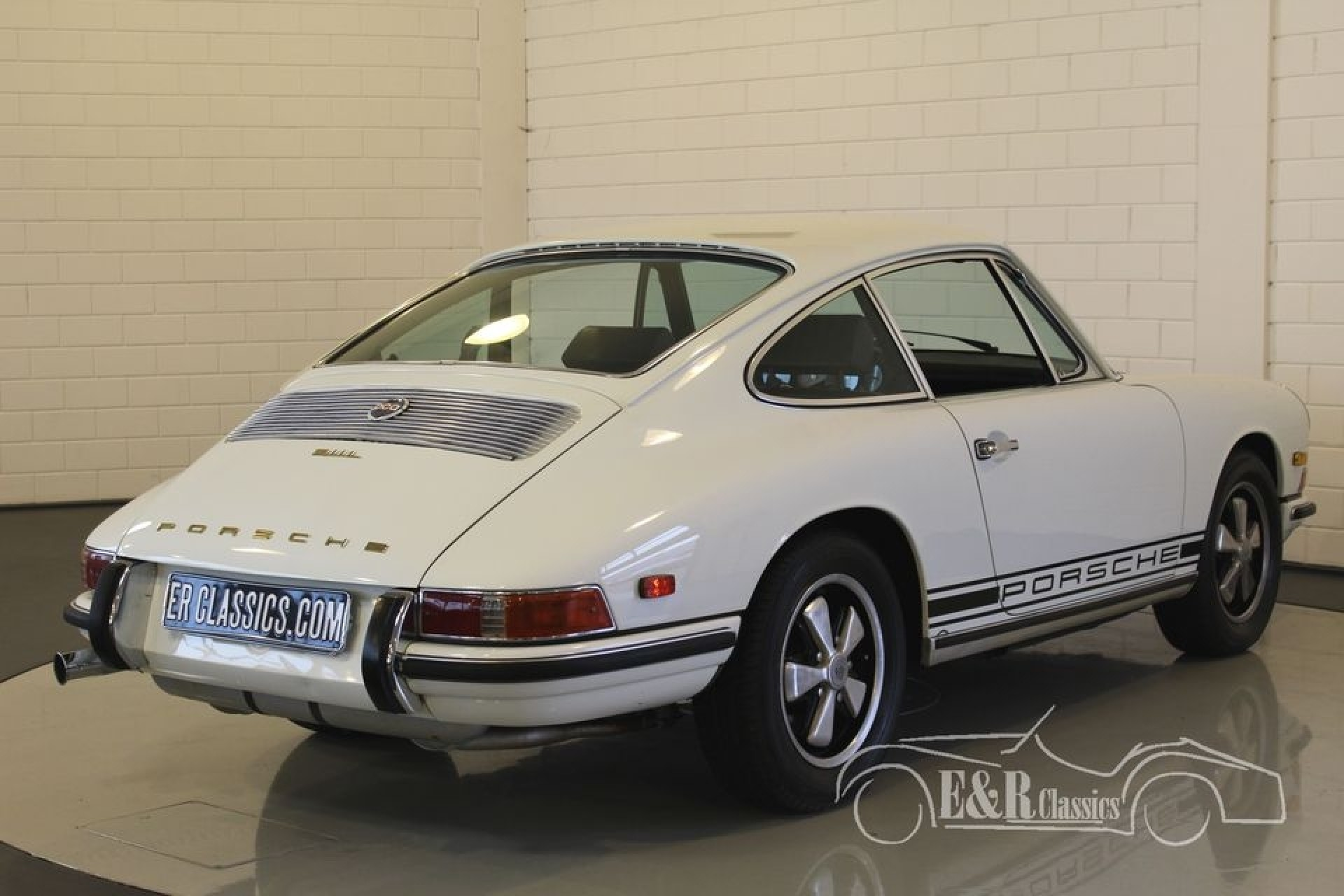 porsche 911 l coupe blanc 1968 vendre erclassics. Black Bedroom Furniture Sets. Home Design Ideas