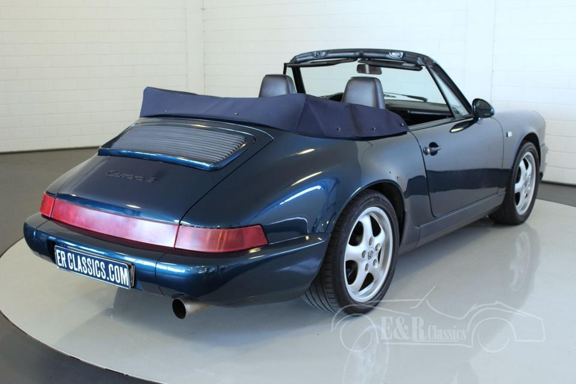 porsche 964 carrera 2 cabriolet 1991 vendre erclassics. Black Bedroom Furniture Sets. Home Design Ideas