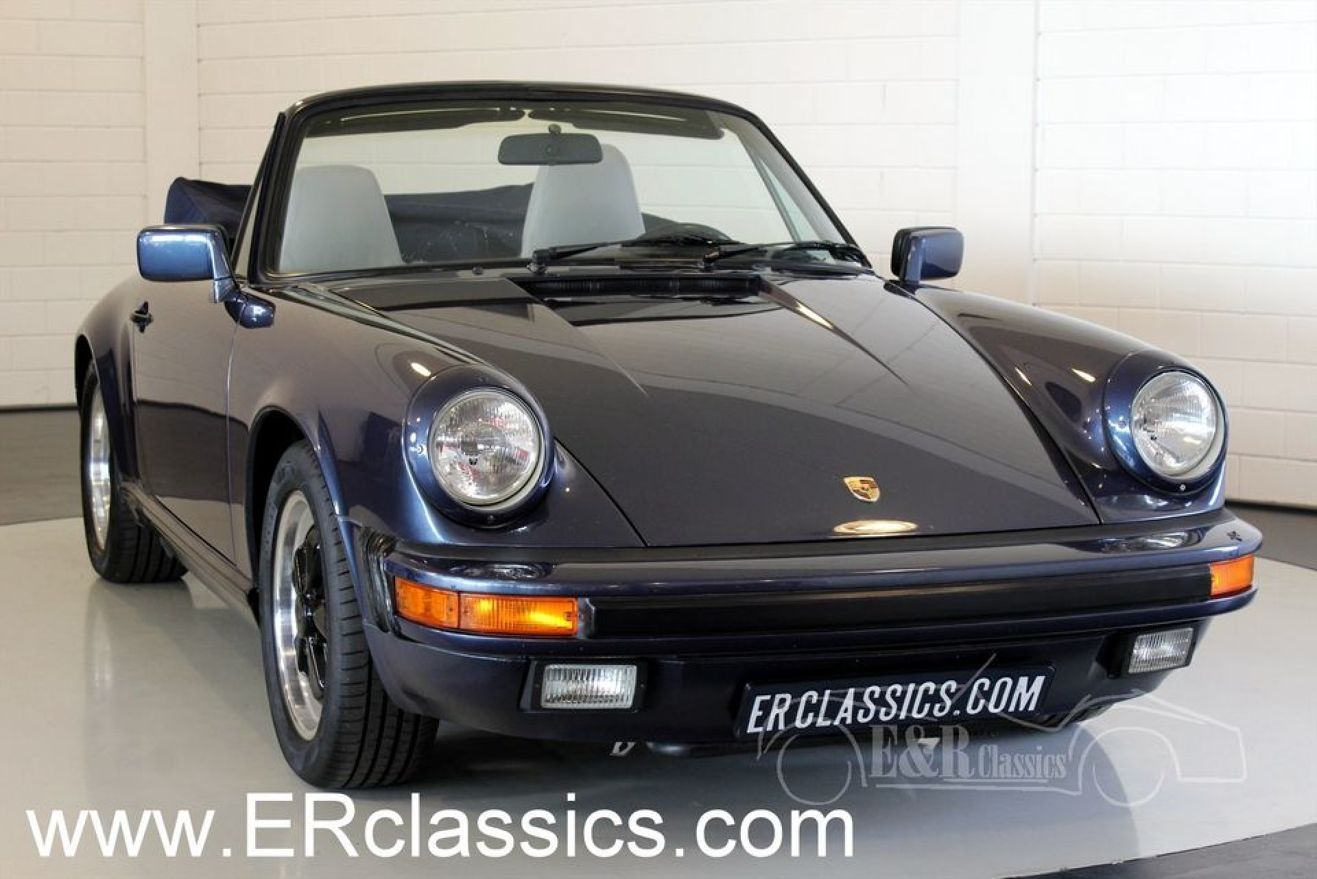 porsche 911 carrera cabriolet 1986 vendre erclassics. Black Bedroom Furniture Sets. Home Design Ideas