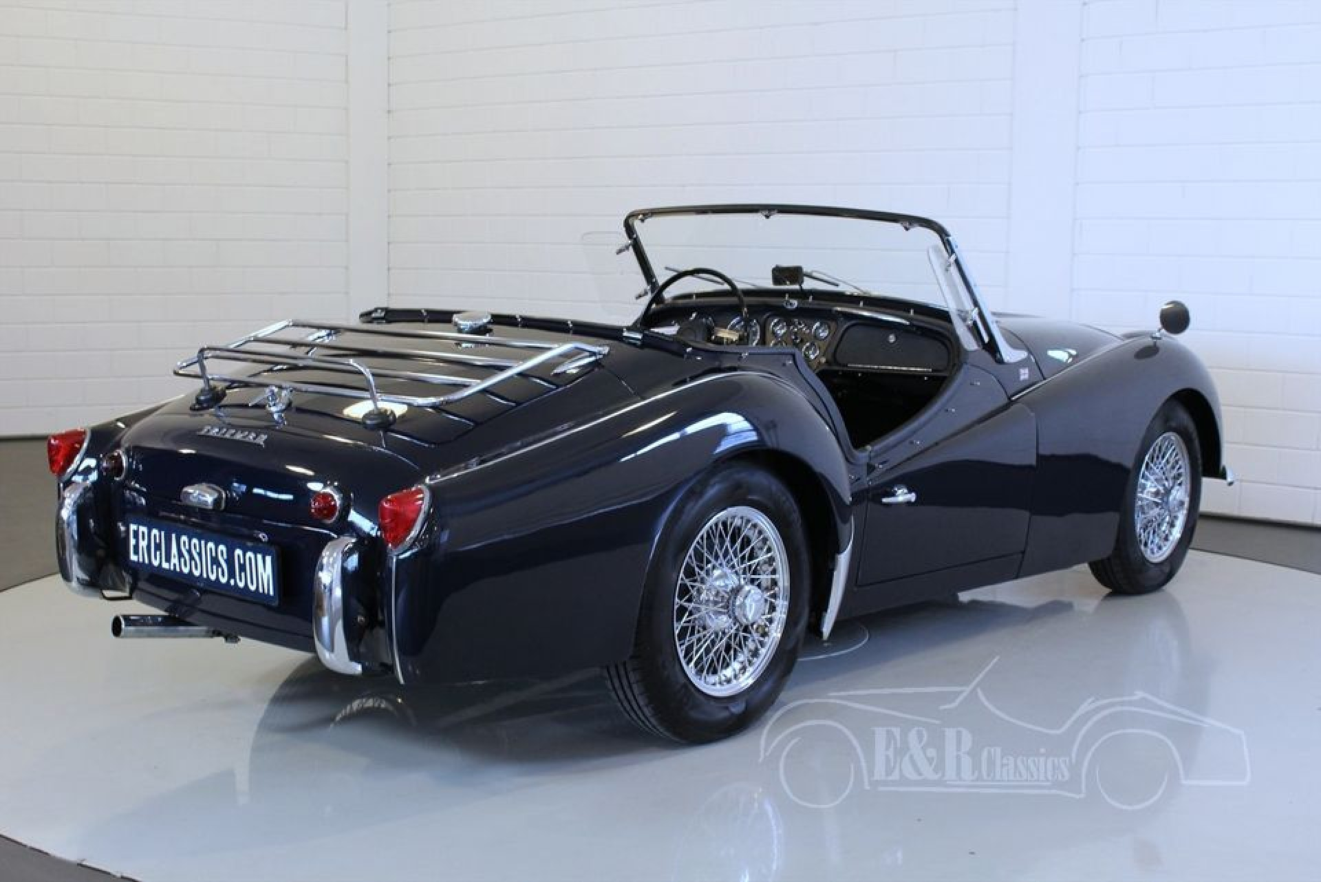 triumph tr3 a cabriolet 1961 vendre erclassics. Black Bedroom Furniture Sets. Home Design Ideas