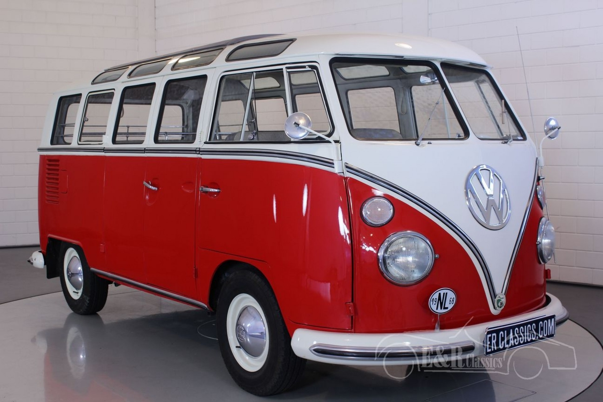 volkswagen t1 samba 1966 vendre erclassics. Black Bedroom Furniture Sets. Home Design Ideas