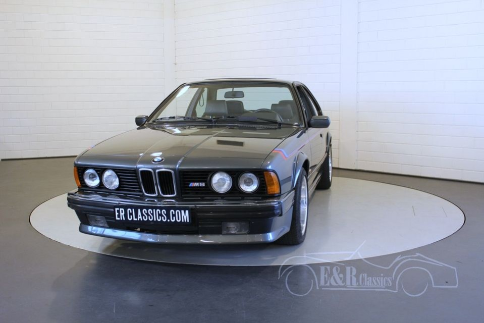 bmw 635csi m6 e24 1987 vendre erclassics. Black Bedroom Furniture Sets. Home Design Ideas