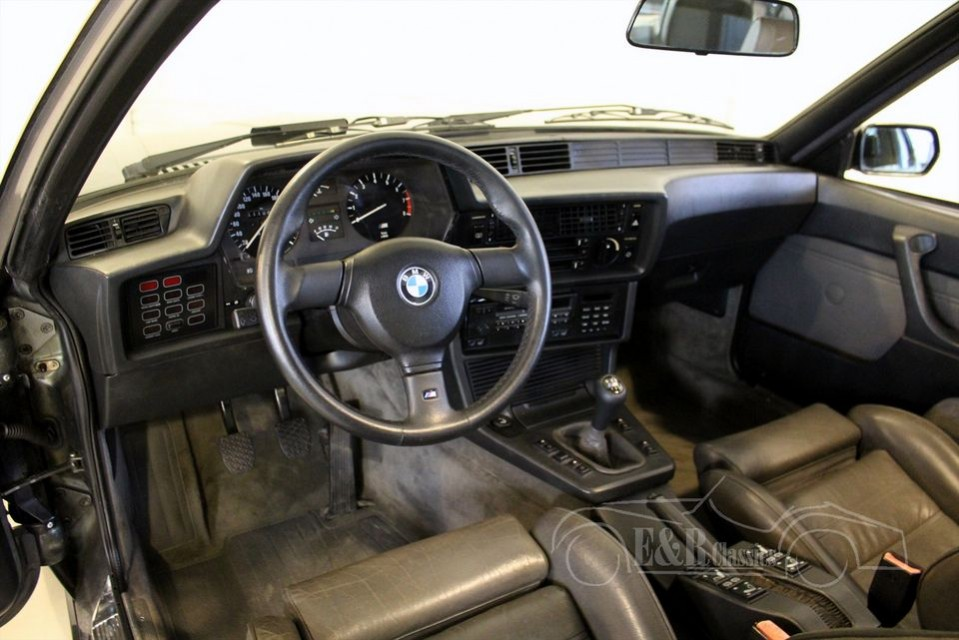 Bmw 635csi m6 e24 1987 vendre erclassics for Interieur 635 csi