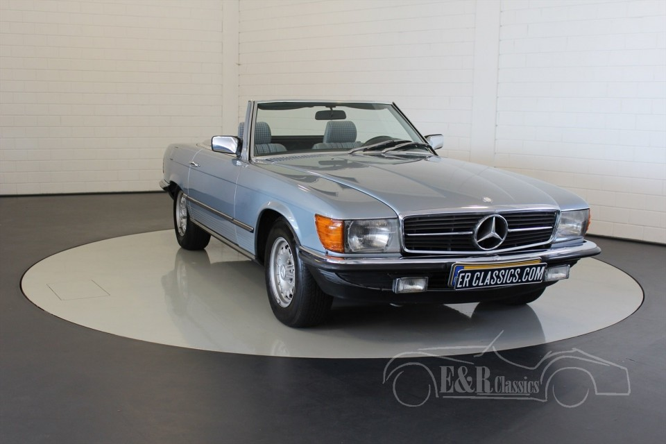 mercedes benz 280 sl cabriolet 1983 vendre erclassics. Black Bedroom Furniture Sets. Home Design Ideas
