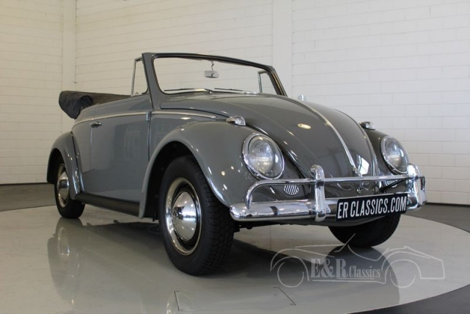volkswagen coccinelle cabriolet 1963 vendre erclassics. Black Bedroom Furniture Sets. Home Design Ideas