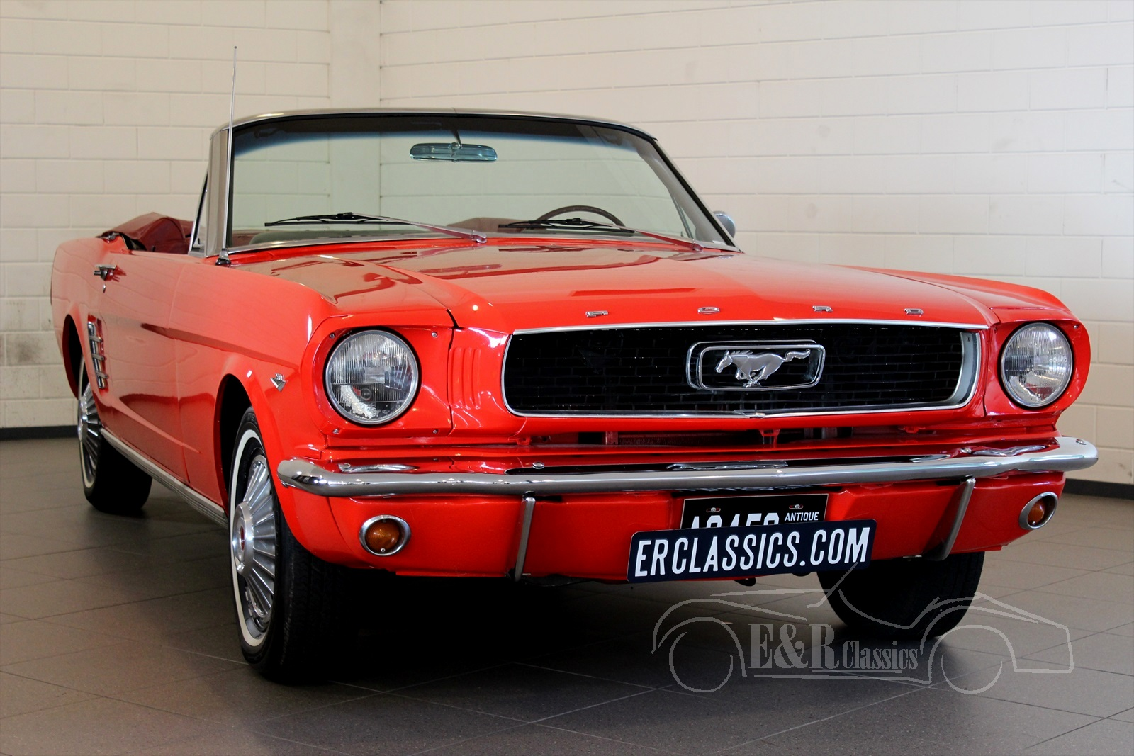 ford mustang 1964 voitures de collection a vendre a e r classic cars. Black Bedroom Furniture Sets. Home Design Ideas