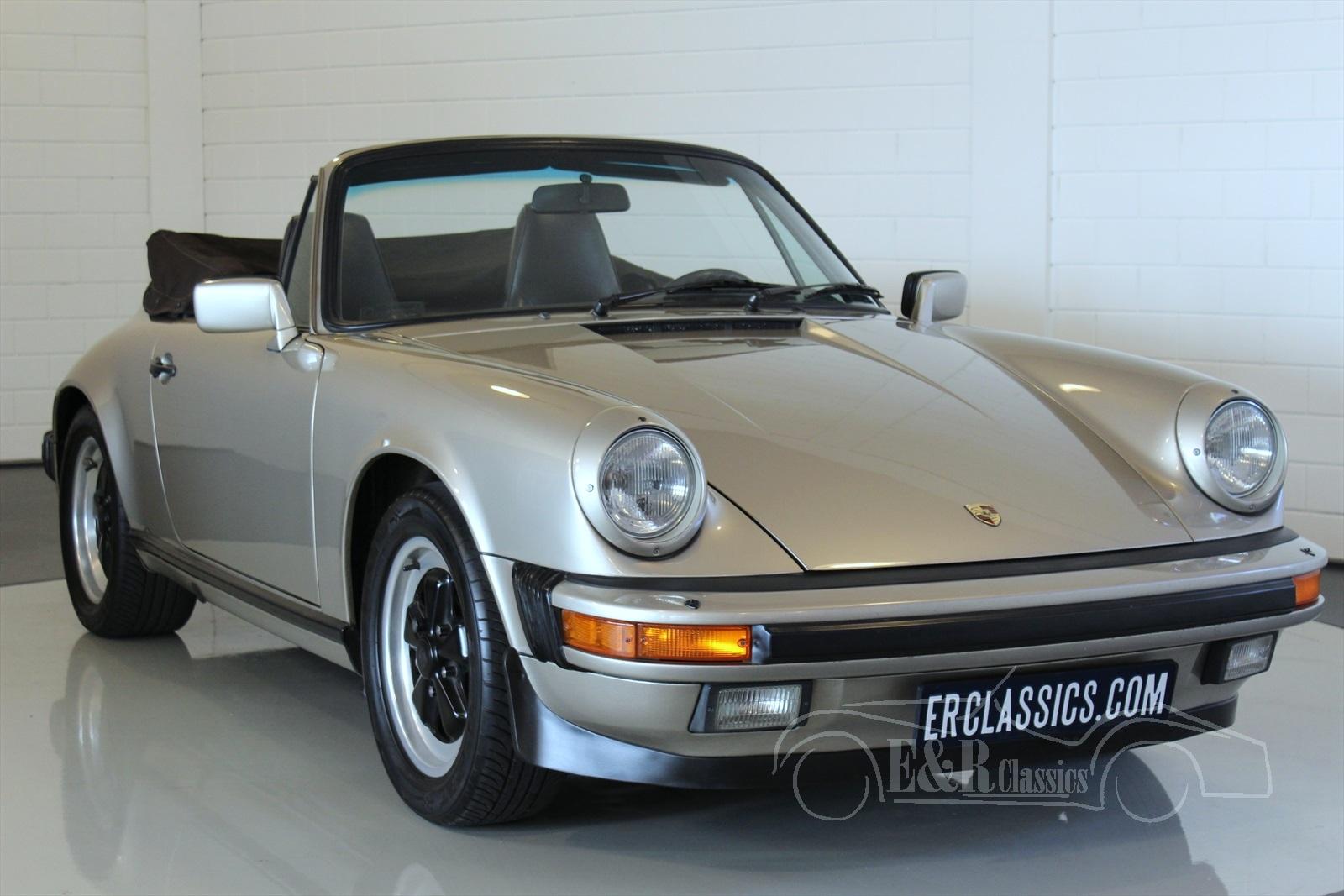 porsche 911 1984 1989 voitures de collection a vendre. Black Bedroom Furniture Sets. Home Design Ideas